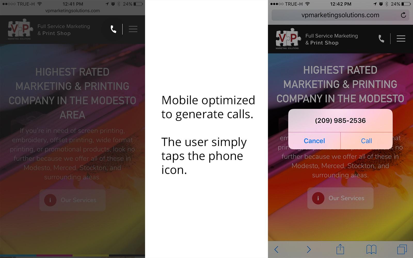 VP Marketing Web Design Mobile
