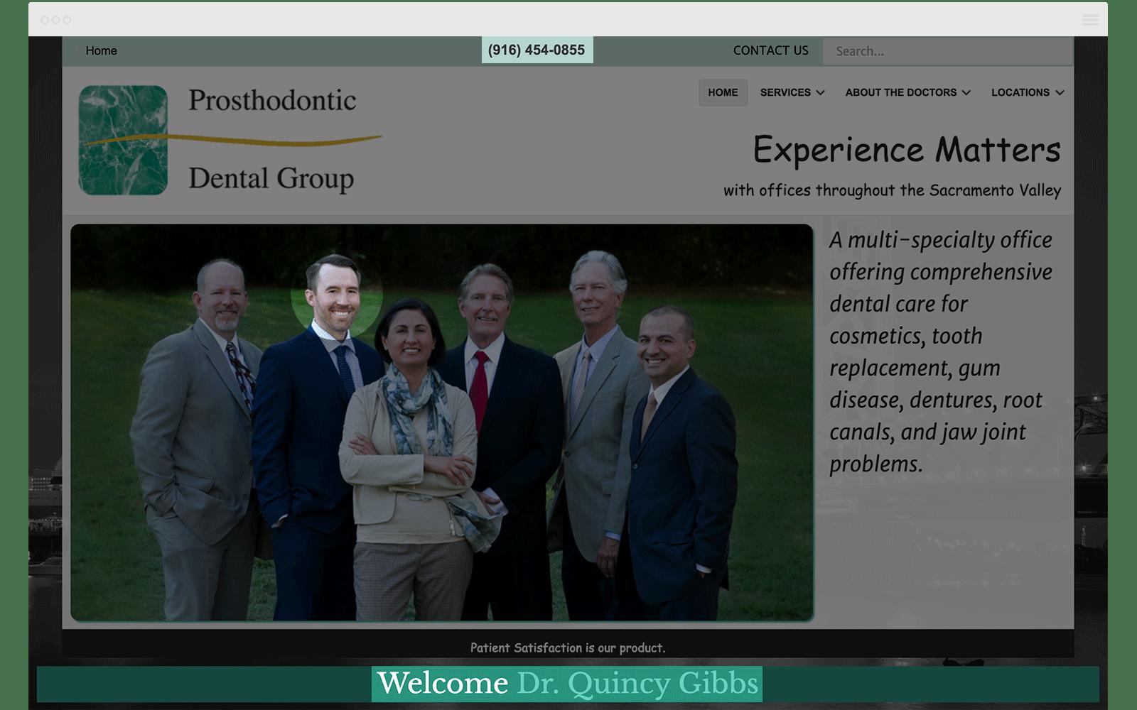 NAPW Prosthodontic Website
