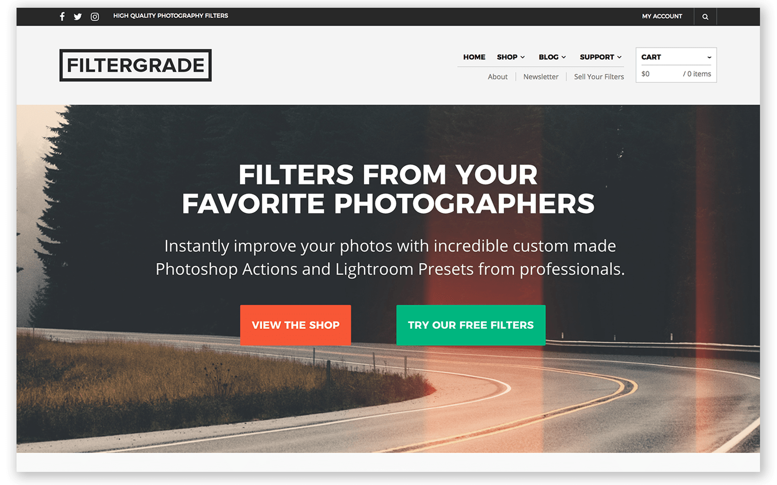 filtergrade website